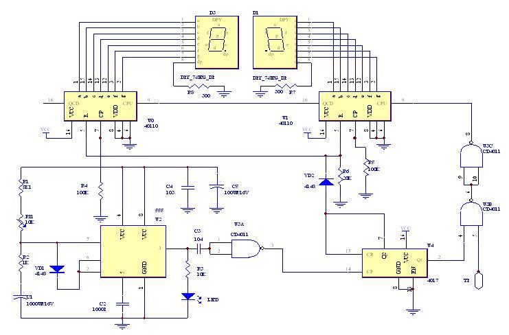 经典实用模块电路设计(数字显示频率计)